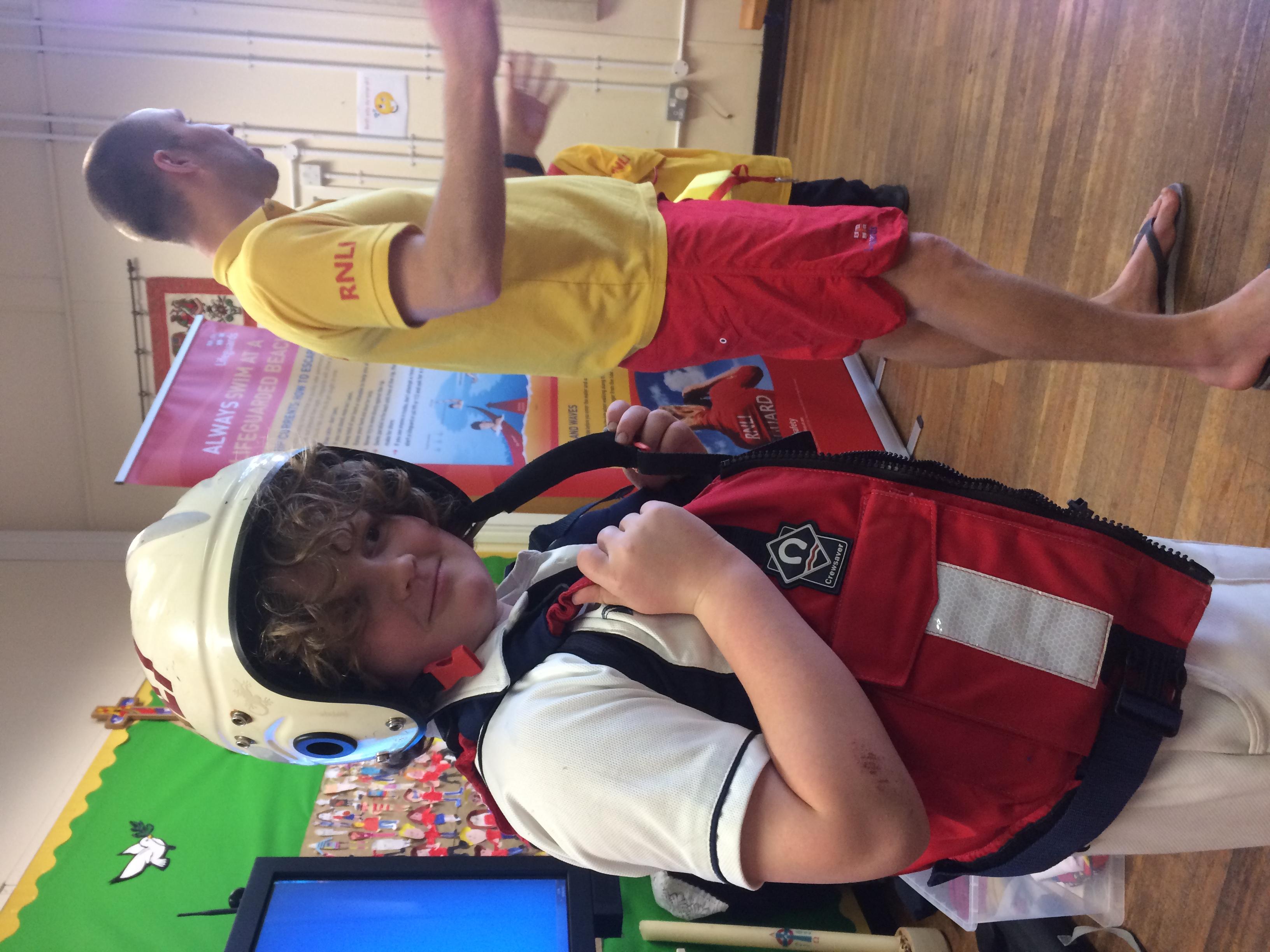 Lifeguard visit