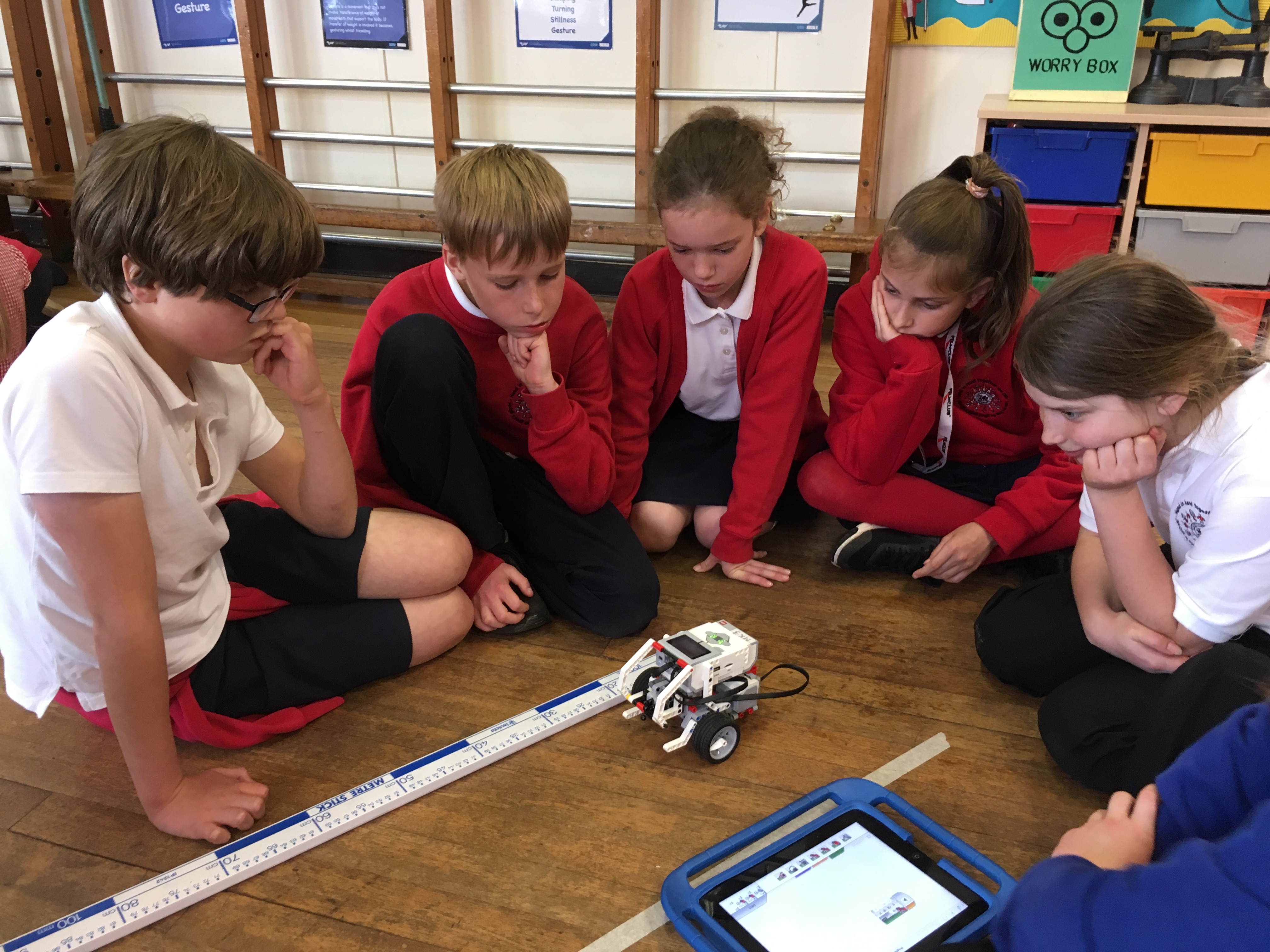 Lego Mindstorm training