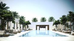 reception buildings swimming pool