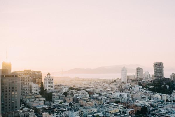 San Francisco Fairmont Wedding Photograp