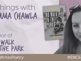 """6 Things With... Jemma Chawla author of """"No Walk in the Park: Stumbling through Motherhood"""""""