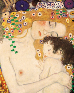My body is made of cruxes...   ~ from my poem 'Cruxes' (3 Ages of a Woman by Klimt)