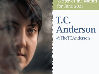 Writer of the Month: T.C. Anderson for June 2021