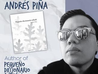 """6 Cosas con... ANDRÉS PIÑA autor del """"Pequeño Diccionario Sefardí"""""""