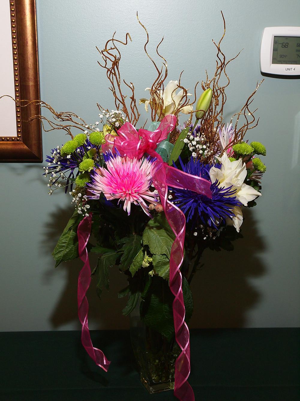 Barbara Ramsey-Chudakewich's Floral Design Exhibit