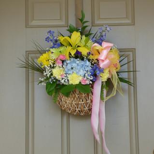 May Baskets on Display