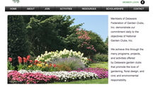 New Delaware Garden Clubs Website