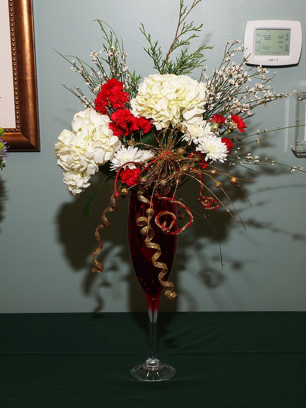 Sylvia Heidbreder's Floral Design Exhibit