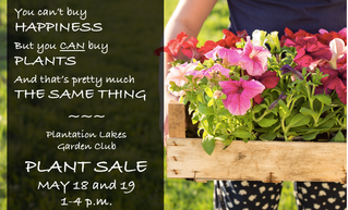 SPRING PLANT SALE ANNOUNCED