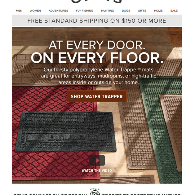 Orvis Email - Home