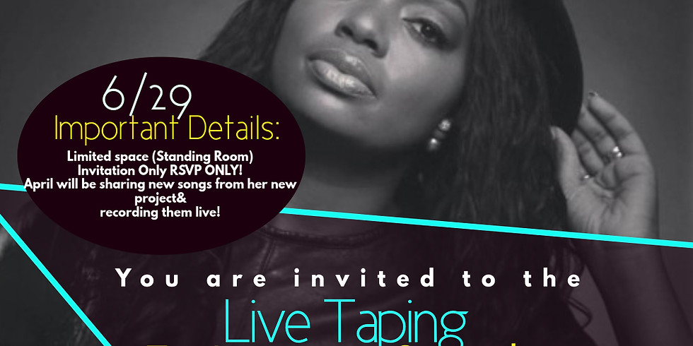 April Browns Live Taping