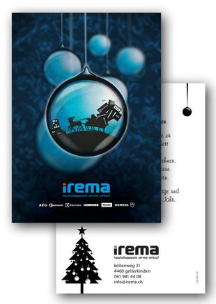 Weihnachtskarte irema