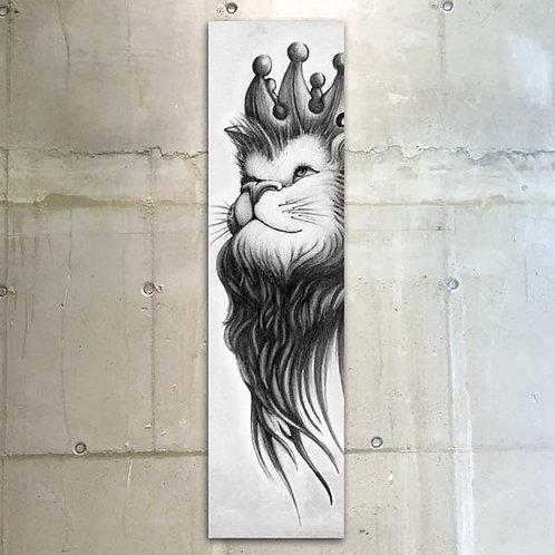 lion / 30x120cm