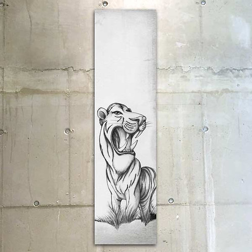 tiger / 30x120cm