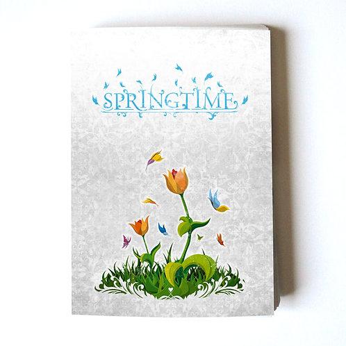 springtime fowers