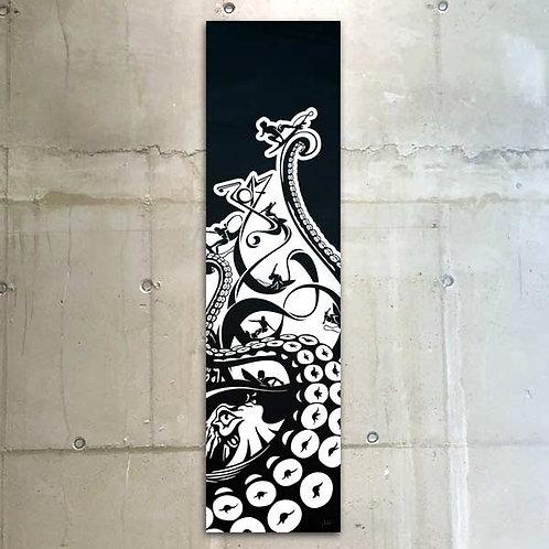 octopus surf / 30x120cm