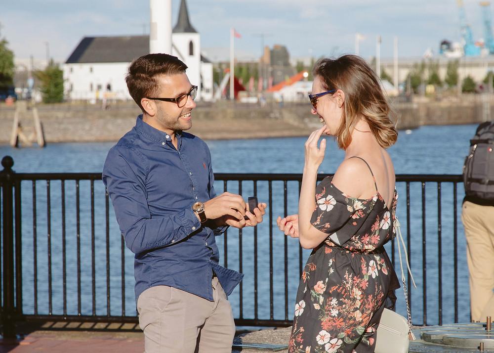 Wedding proposal Cardiff