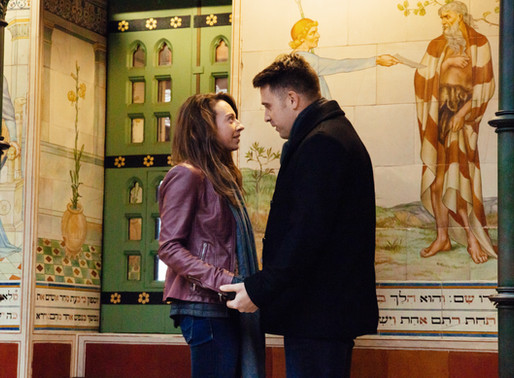 Romantic surprise proposal Cardiff