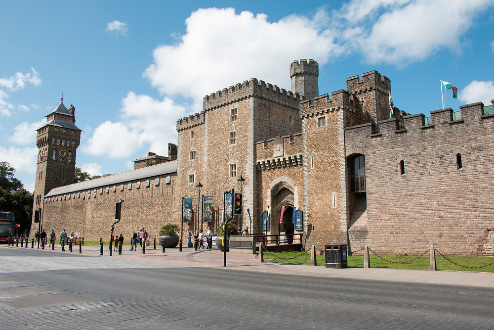 Cardiff Castle photography