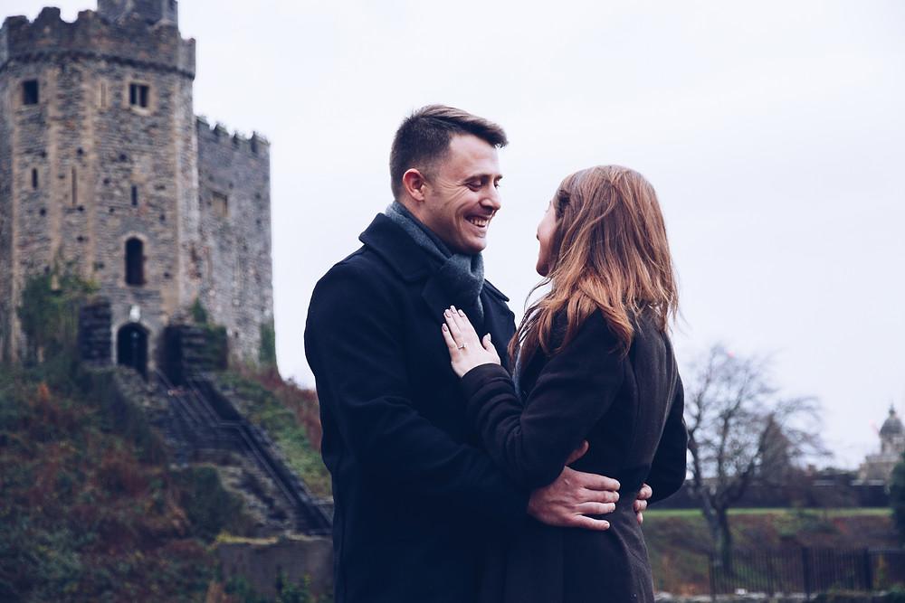 Surprise proposal Cardiff