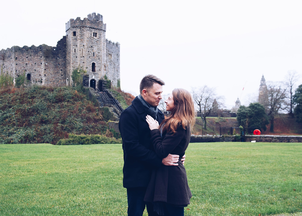 Engagement proposal Cardiff
