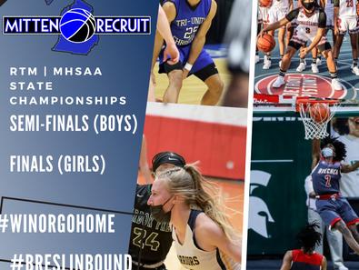 RTM | MHSAA State Basketball Championships - Boys & Girls