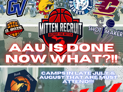 AAU is DONE.... NOW WHAT?!!!