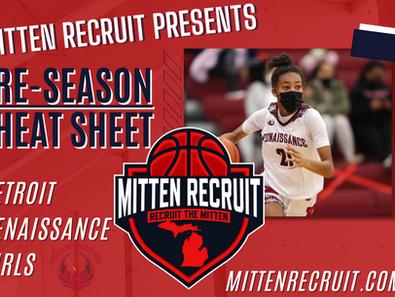 Preseason Cheat Sheet | Detroit Renaissance Girls