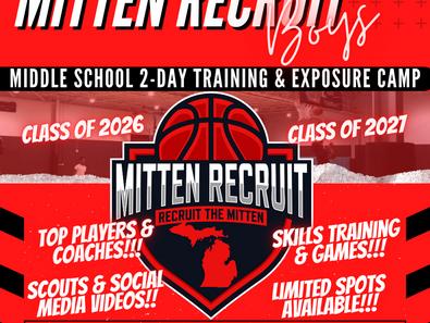 Boys Middle School Exposure & Training Camp