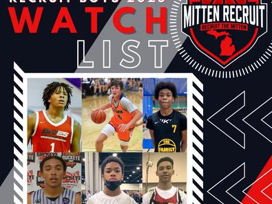 Mitten Recruit 2025 Watch-List (Boys)