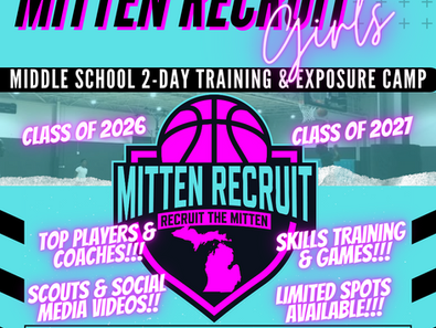 Girls Middle School Exposure & Training Camp