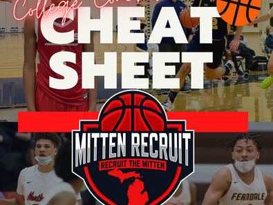 RTM |  College Coaches Cheat Sheet