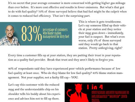 Customer Opinion Survey: Fuel Quality