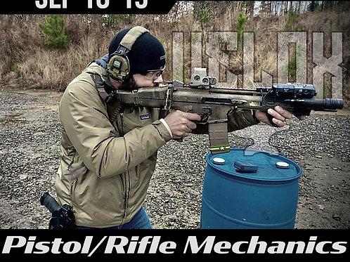September 18-19 / Pistol-Rifle Mechanics / Cheyenne, WY