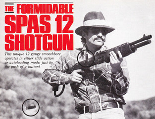 The Formidable SPAS 12 Shotgun