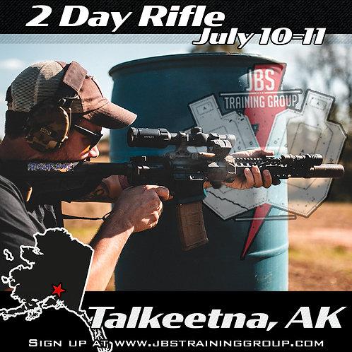 July 10-11 / 2 Day Rifle / Talkeetna, AK