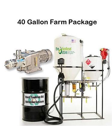 40 Gallon Farm Package