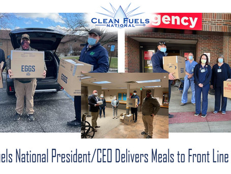 Press Release: CFN CEO and President Delivers Food To Front Line Workers