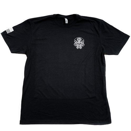T-Shirt - Woodblock Black