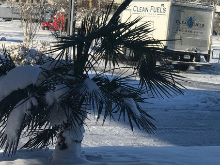 Winter Storms Don't Stop Clean Fuels National