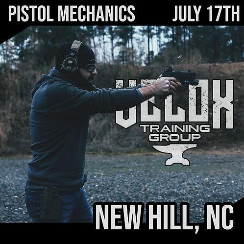 New Hill, SC / Pistol Mechanics / July 17th