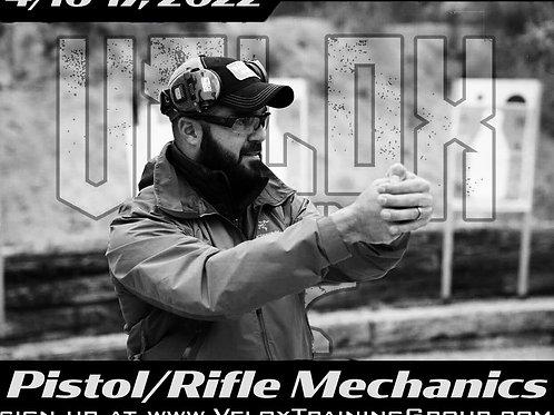 April 16-17, 2022 / Pistol-Rifle Mechanics / Founders Ranch, NM