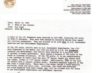 FIE Official SPAS 15 Letter