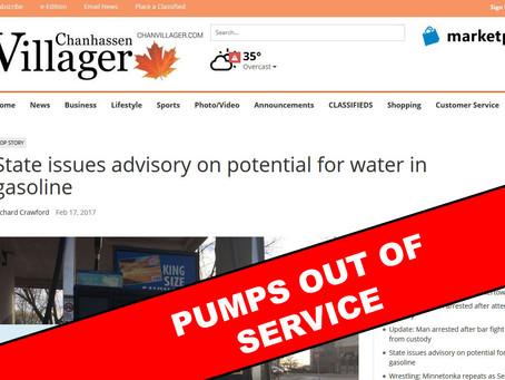 Gas Pumps Shut Down in Chanhassen
