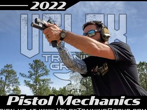 June 25-26, 2022 / Pistol Mechanics / BTO Range, TX