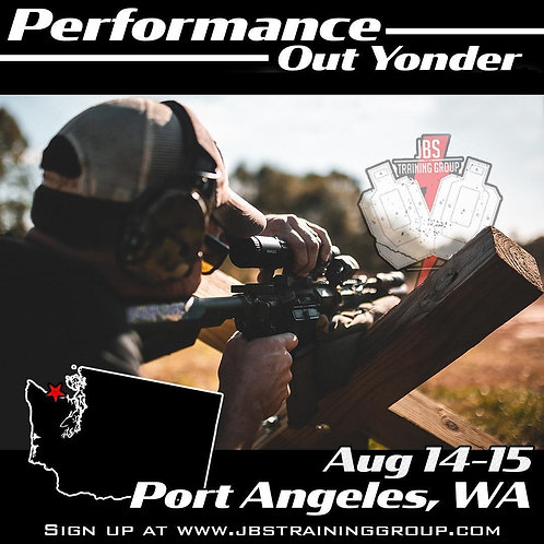 Aug 14-15 / 2 Day Performance Out Yonder /Port Angeles, WA