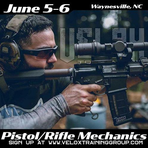 June 5-6 Pistol/Rifle Mechanics, Waynesville NC