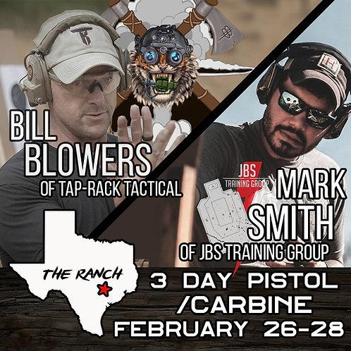 Feb 26-28 / 3 Day Carbine Pistol / Eagle Lake, TX