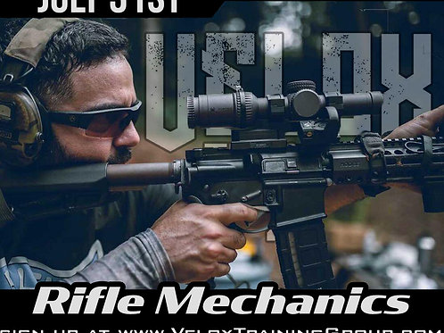 July 31st / Rifle Mechanics / New Hill, NC