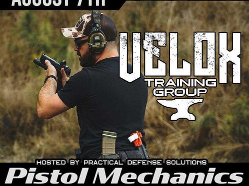 August 7th / Pistol Mechanics / Four Oaks, NC